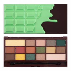 MAKEUP REVOLUTION Mint chocolate paleta cieni do powiek