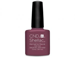 CND Shellac Married to the Mauve lakier hybrydowy 7,3 ml