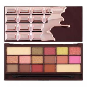 MAKEUP REVOLUTION Chocolate rose gold paleta cieni do powiek