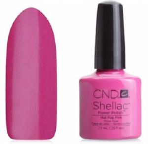 CND Shellac Hot Pop Pink lakier hybrydowy 7,3 ml