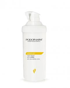 PODOPHARM Krem do stóp z lipidami 500 ml